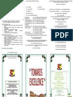Brochure Sarana Ibu Bapa Dan Penyerahan Wang Bantuan Awal Persekolahan