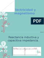 Reactancia inductiva y capacitiva
