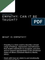 Delinquency & Empathy
