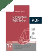 argumentacion juridica en la etapa preliminar , mexico.pdf