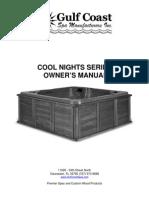 Gulf Coast-Cool Nights Spa Manual
