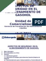 Aspectos Seguridad Almacenamiento GASOHOL