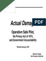 Actual Damage OSP Rev Jan 2015