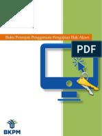 BKPM Panduan Manual Hak Akses