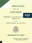 EL INDIVIDUO EN LA HISTORIA