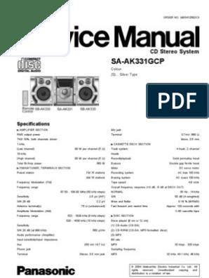 Panasonic Sa Ak331gcp | Electrostatic Discharge | Electronic Circuits