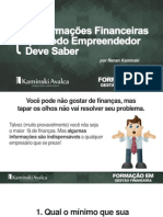 4informacoees Financeiras Que Todo Empreendedor Deve Saber