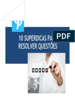 10 Superdicas Resolver Questoes