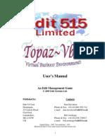 Topaz Manual