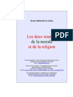 Bergson Henri Deux Sources