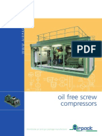 Catalogue Oilfree Screw Compressors