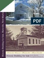 Historic Building for Sale in Massachusetts