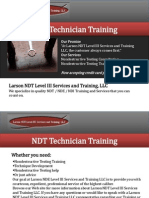 NDT Technician Training