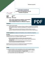 Guía Rúbrica de Trabajo Individual Materiales