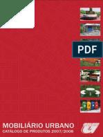 Catálogo mobiliário urbano Goloni