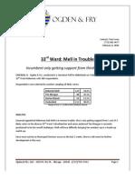 Aldertrack Ward 33 Poll