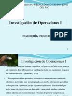 Diapositvas de Investigación de Operaciones I 2013
