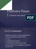 Predictive parser