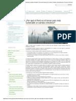 ¿Por Qué El Perú Es El Tercer País Más Vulnerable Al Cambio Climático_ _ Dirección General de Cambio Climático, Desertificación y Recursos Hídricos