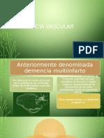 Demencia Vascular - Psiquiatría