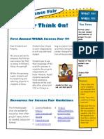 science fair publication
