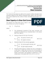 Shear Connectors Design