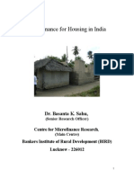 Micro Finance for Housing (Final)