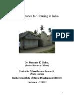 Micro Finance for Housing (Final)