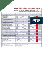 Jadwal Pelatihan Kalibrasi 2015