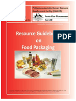Resource Guidebook on Food Packaging