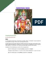 Narayan Dasa Ex.rao