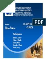 presentacion de su pervisión clinica