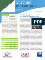 Observatoire de la petite entreprise n° 55 – FCGA / Banque Populaire
