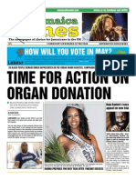 Jamaica Times Newspaper Jan-Feb 2015
