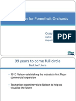 2020 Vision for Pomefruit Orchards Craig Hornblow Thursday 6