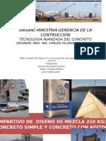 TRABAJO FINAL TEC. CONCRETO COMPARATIVO DISENO MEZCLA.pptx
