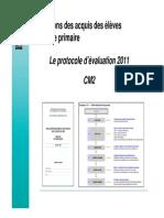 Presentation Evaluations 2011