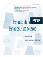 Trabajo Estados Financieros Andreina