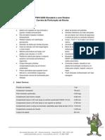PWH 5000 - Dados Tecnicos