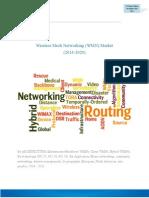 Wireless Mesh Networking (WMN) Market