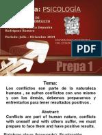 Psicologia Conflicto.