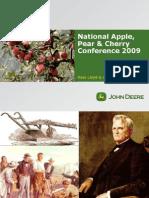 Innovation in Horticulture John Deere Thursday 6th August