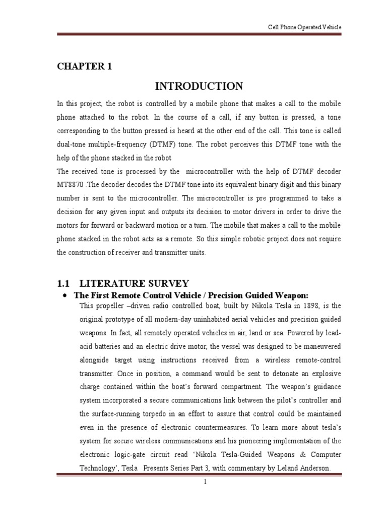 Mobile Operated Vehicle Electrical Engineering Electronics Radio Remote Control Using Dtmf Receiver Transceiver