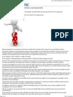 Risk Management - Statistical Method vs Neural Method