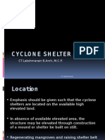 Cyclone Shelter Design