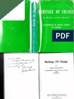 Heritage of Change - Sherrill