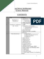 Ksou University Books Bca Sem III Client Server Architecture