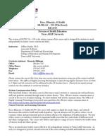 236-599 Syllabus Fall 2014