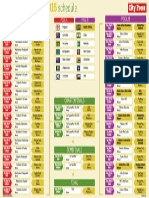 Icc Cricket World Cup 2015 Schedule Fixtures PDF | England