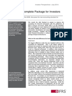 Investor Perspective Financial Instruments July 2014